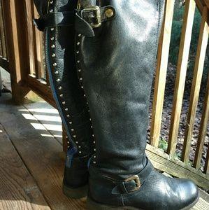 Steve Madden Lynet leather boots